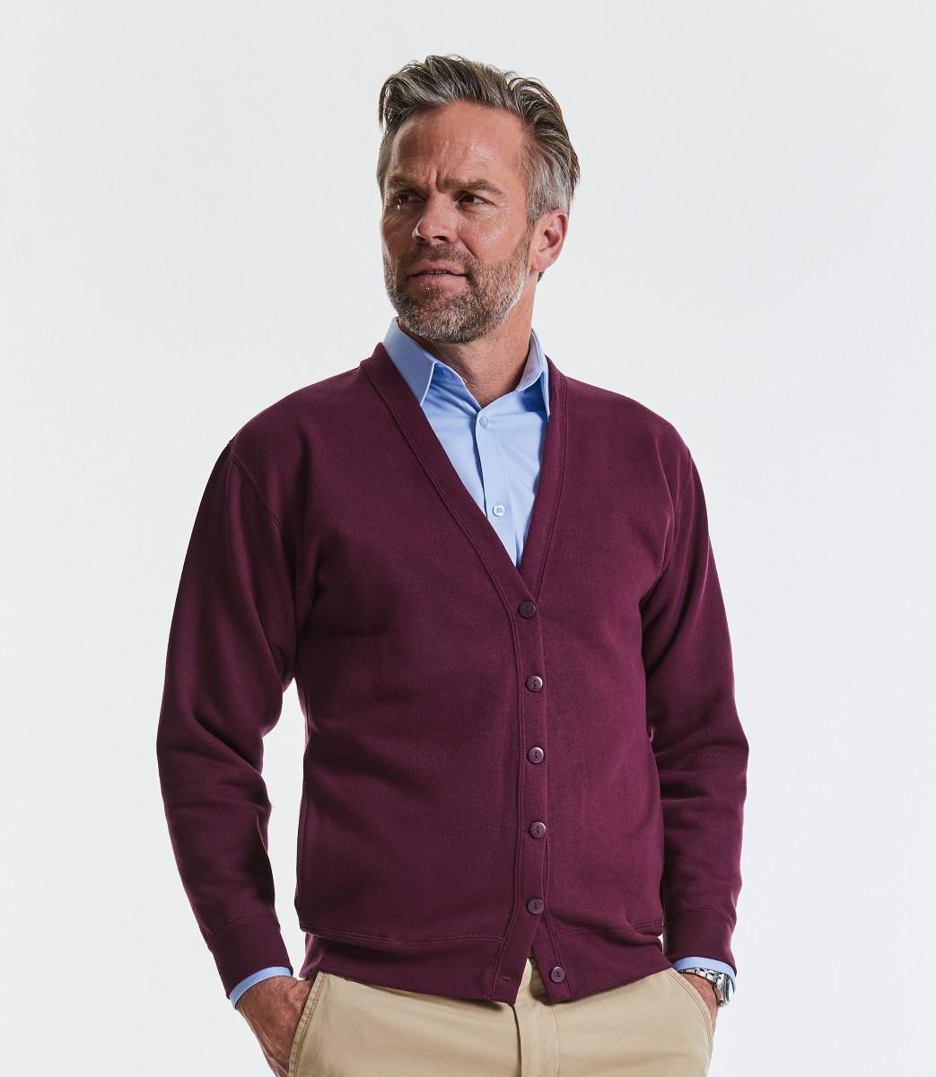 Sweatshirt Cardigan - 1