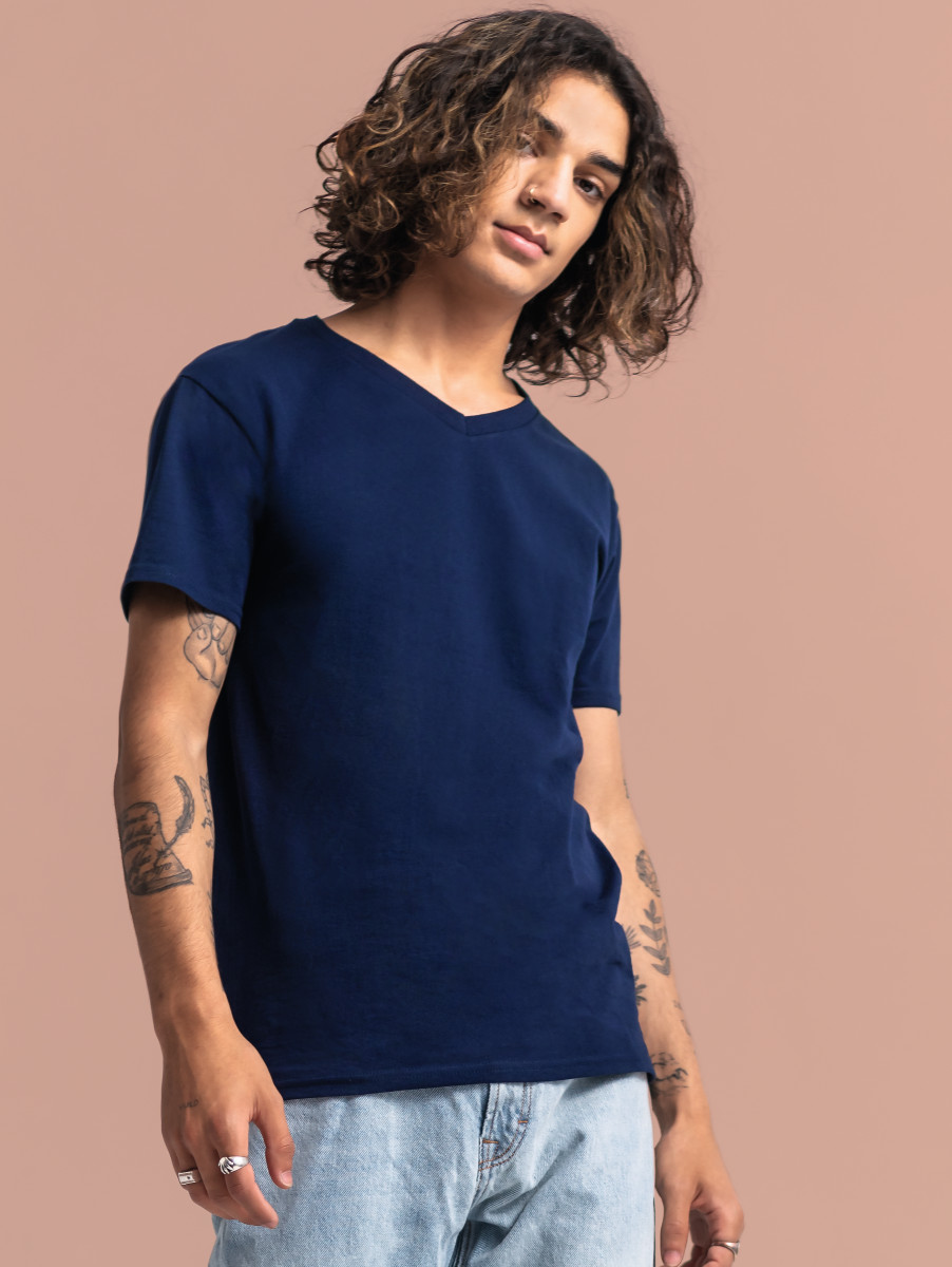 Fruit Of The Loom Iconic 150 V-Neck T