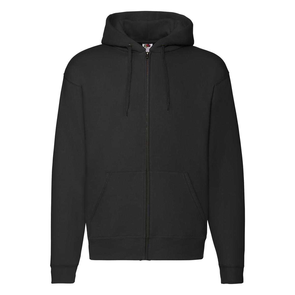 Zip Through Hooded Sweatshirt