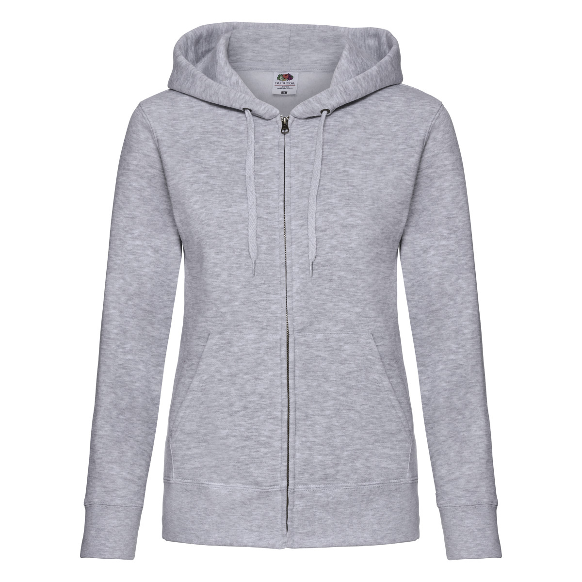 Lady-Fit Hooded Sweat Jacket
