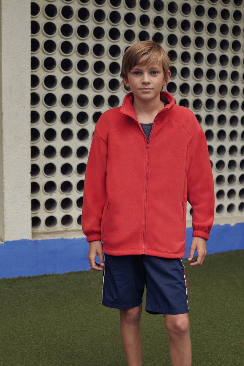 Childrens Full Zip Outdoor Fleece