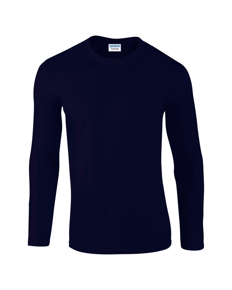 Men's Soft Style Long Sleeve T-Shirt