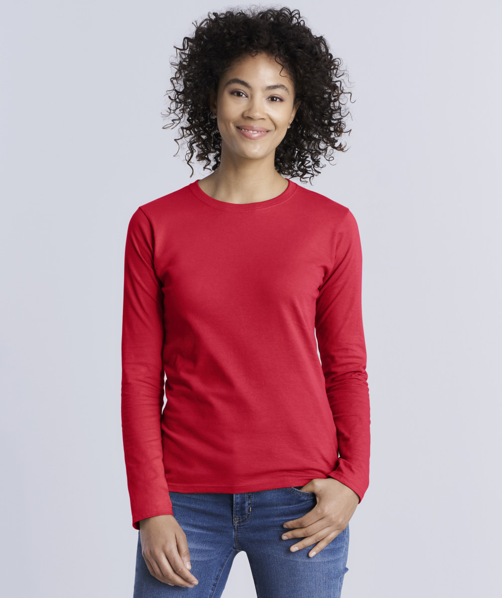Ladies' Soft Style Long Sleeve T-Shirt