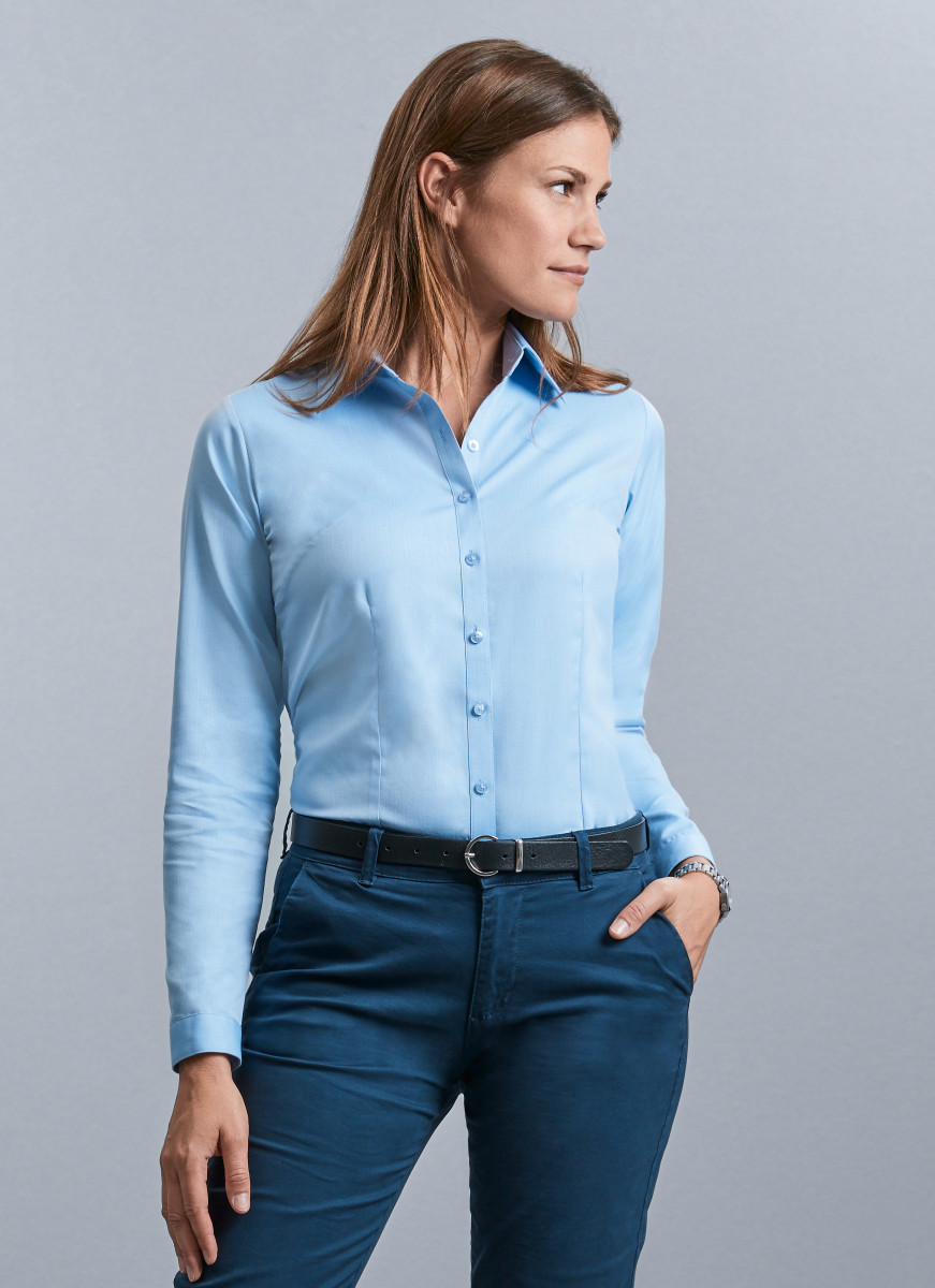 Russell Collection Ladies H'Bone Shirt