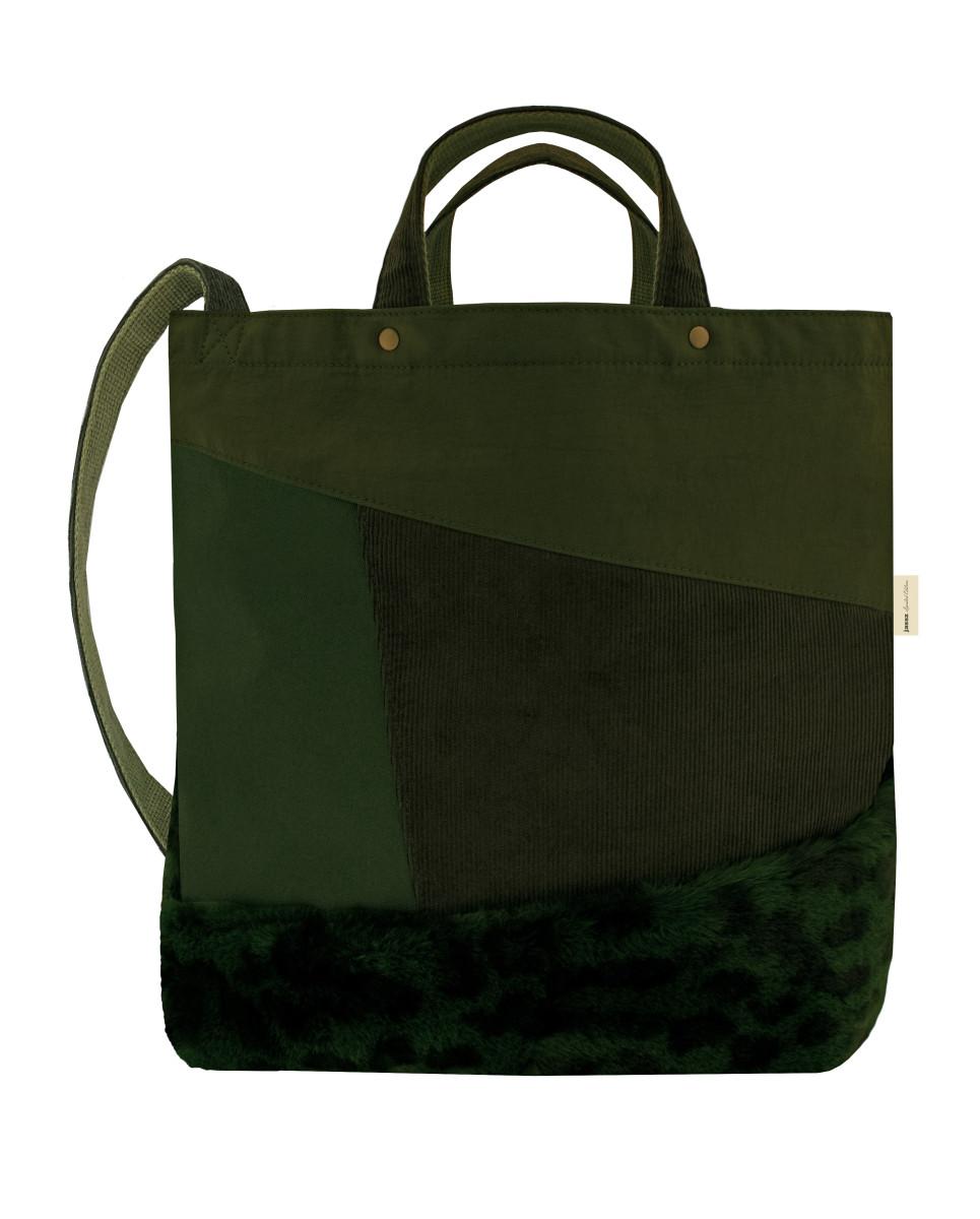 Jassz Bags Satomi Faux Fur Shoulder Bag