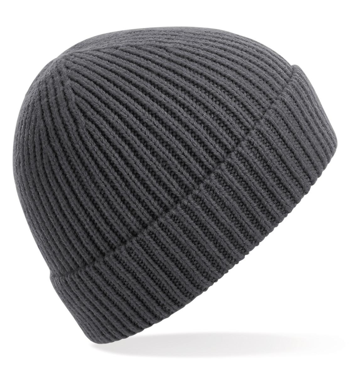 Beechfield Engineered Knit Ribbed Beanie