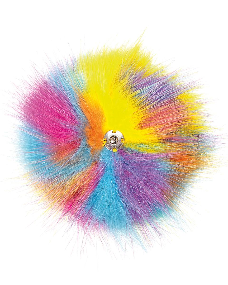 Beechfield Fur Pop Pom Key Ring