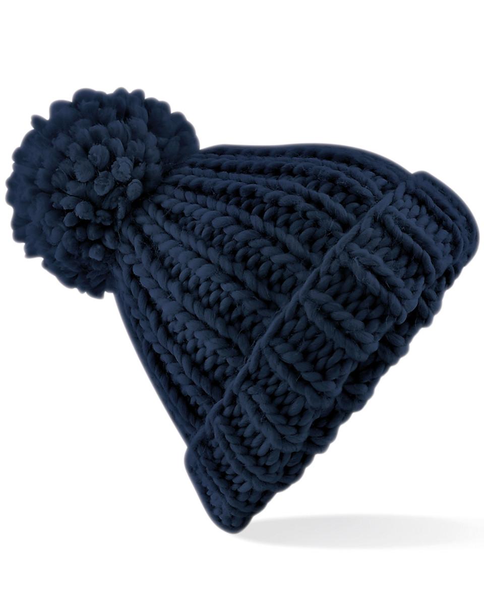 Beechfield Oversized Knitted Beanie