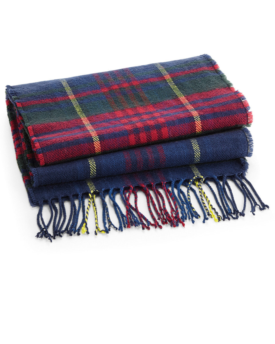 Beechfield Classic Check Scarf