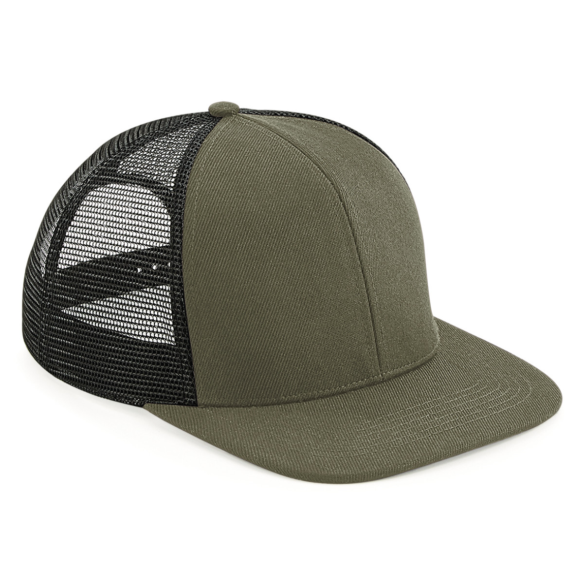 Beechfield Original FlatPeak Trucker Cap - 1