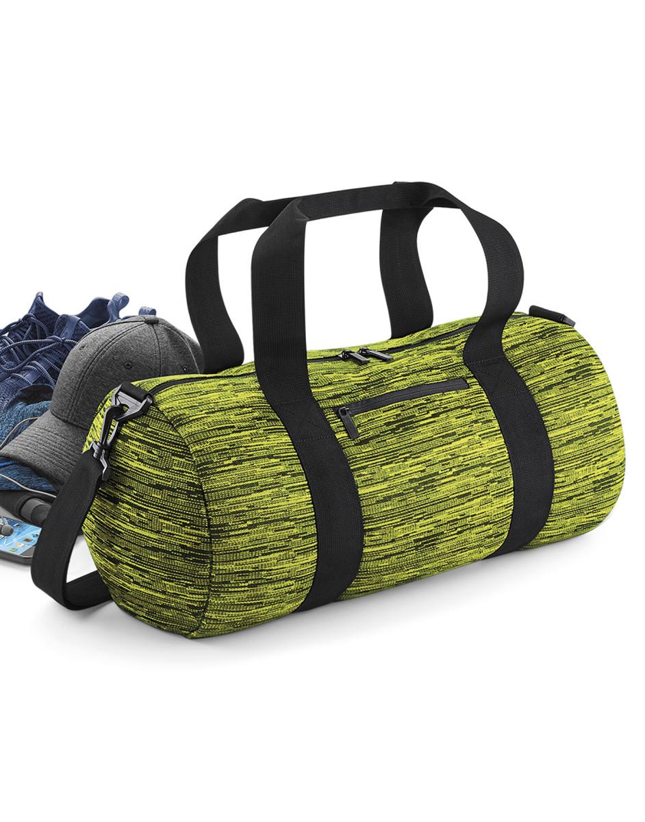Bagbase Duo Knit Barrel Bag