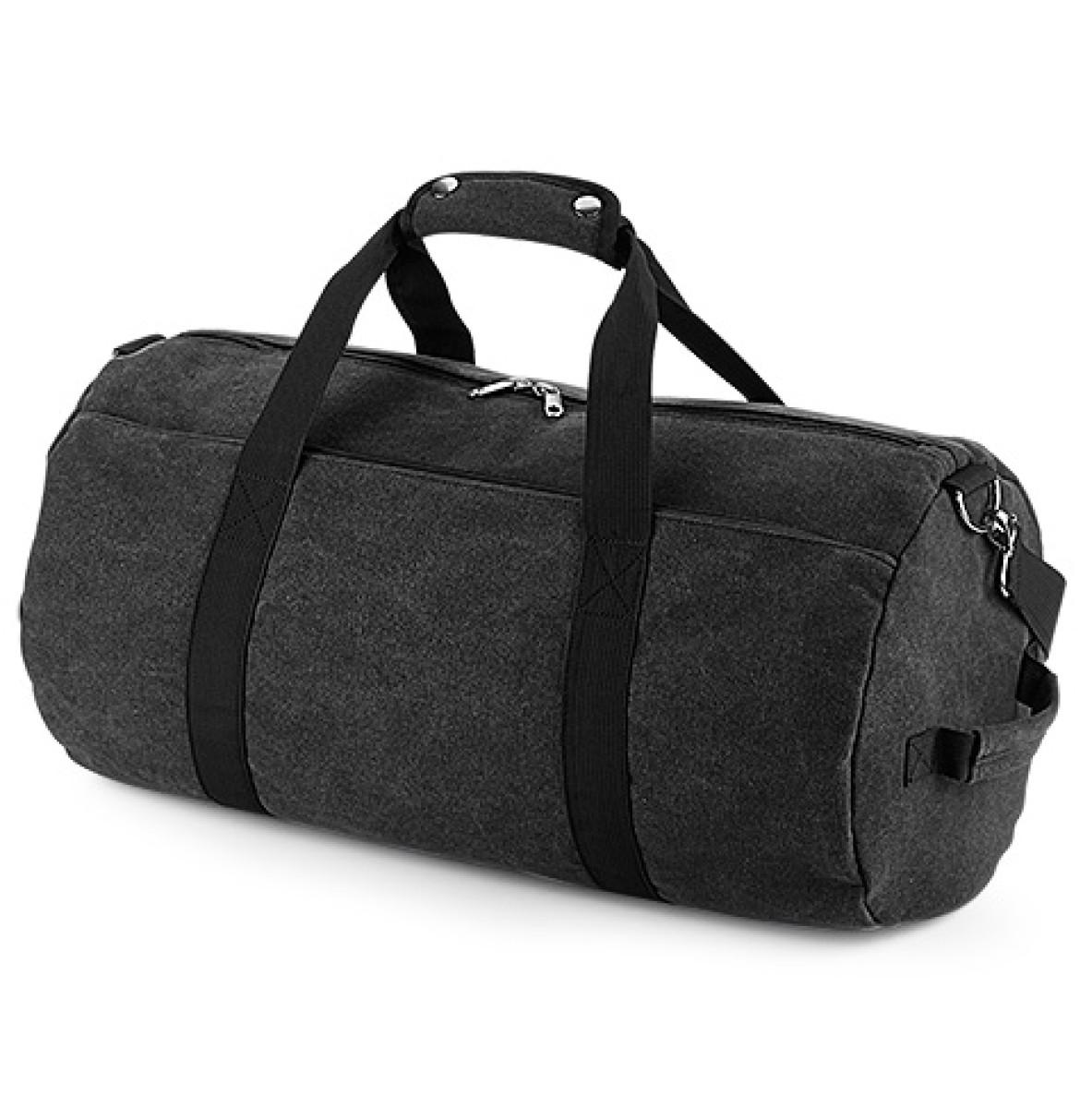 Bagbase Vintage Canval Barrel Bag