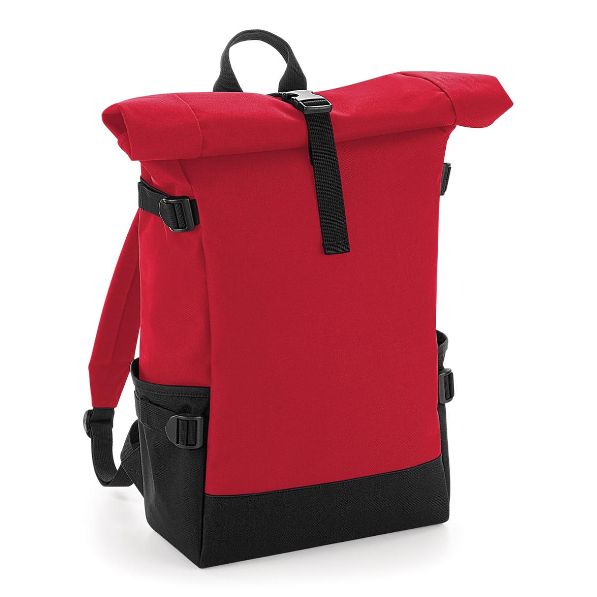 Bagbase Block Roll-Top Backpack