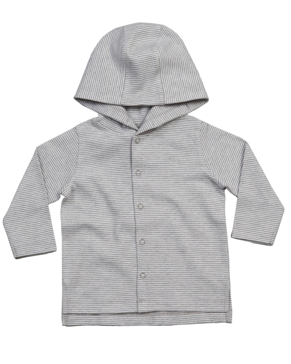 Babybugz Baby Striped Hooded Tee
