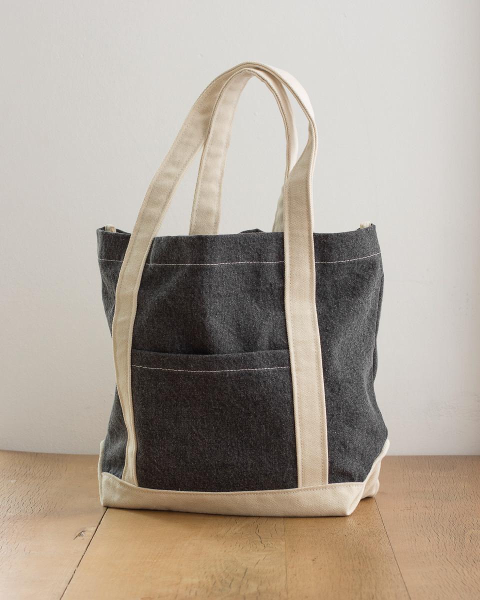 Jassz Bags Canvas Denim Shopper