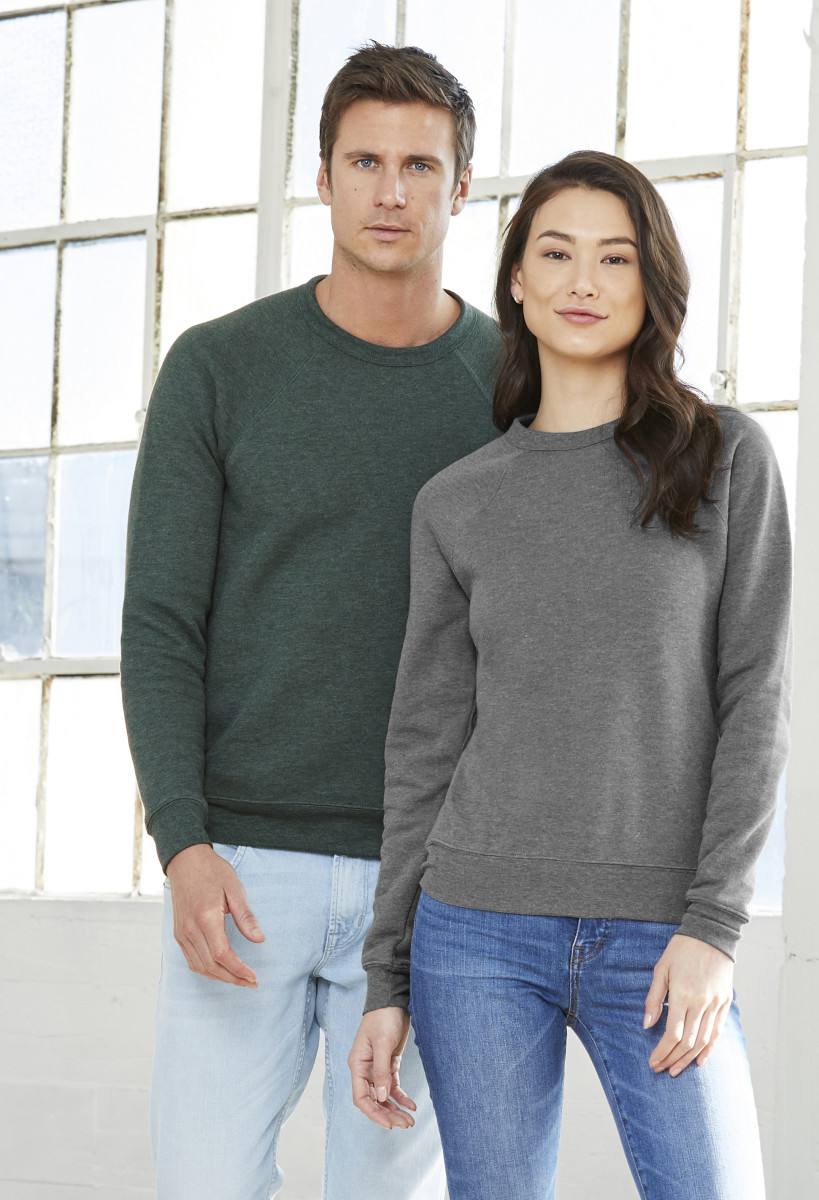 Canvas Unisex Sponge Fleece Raglan Sweat
