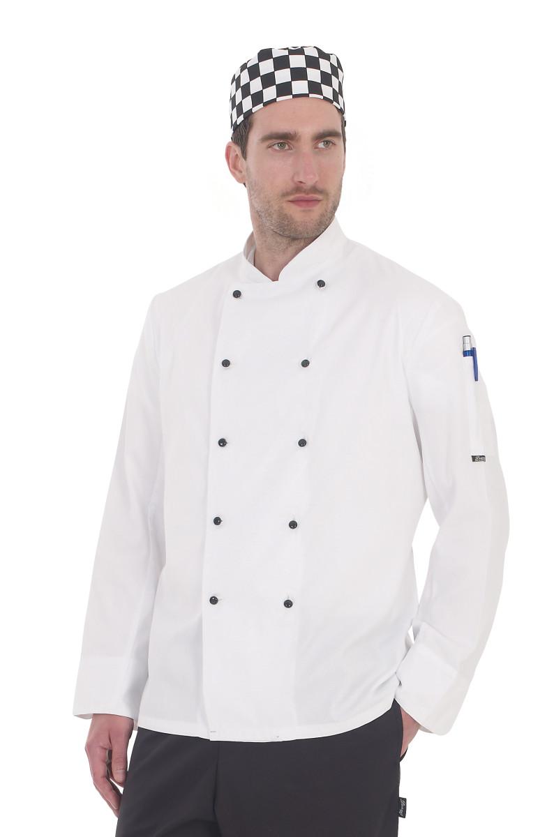 Lightweight Long Sleeve Chefs Jacket