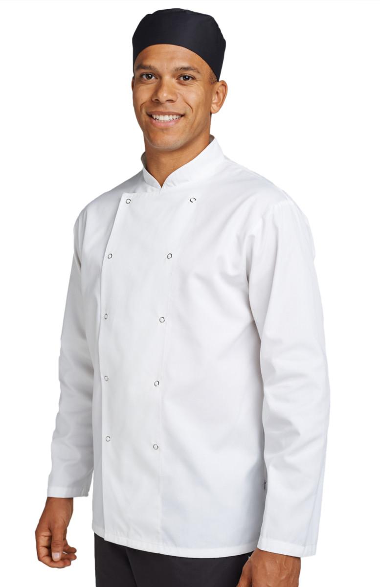 Dennys Budget L/Sleeve Chefs Jacket