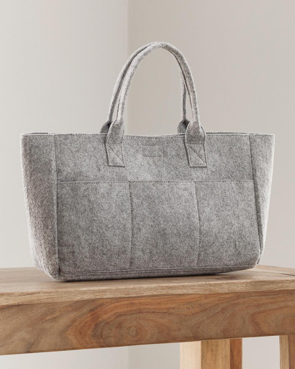 Jassz Bags Pocket Felt Shopper