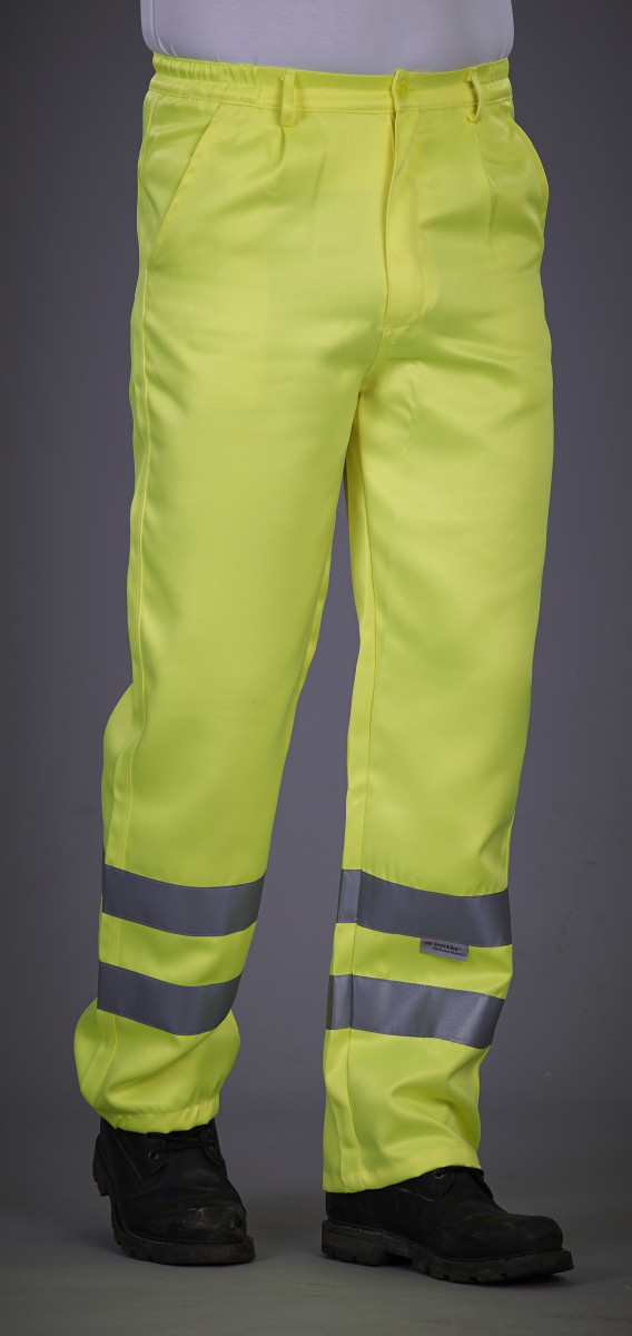 Hi-Vis Polycotton Work Trouser (Regular)