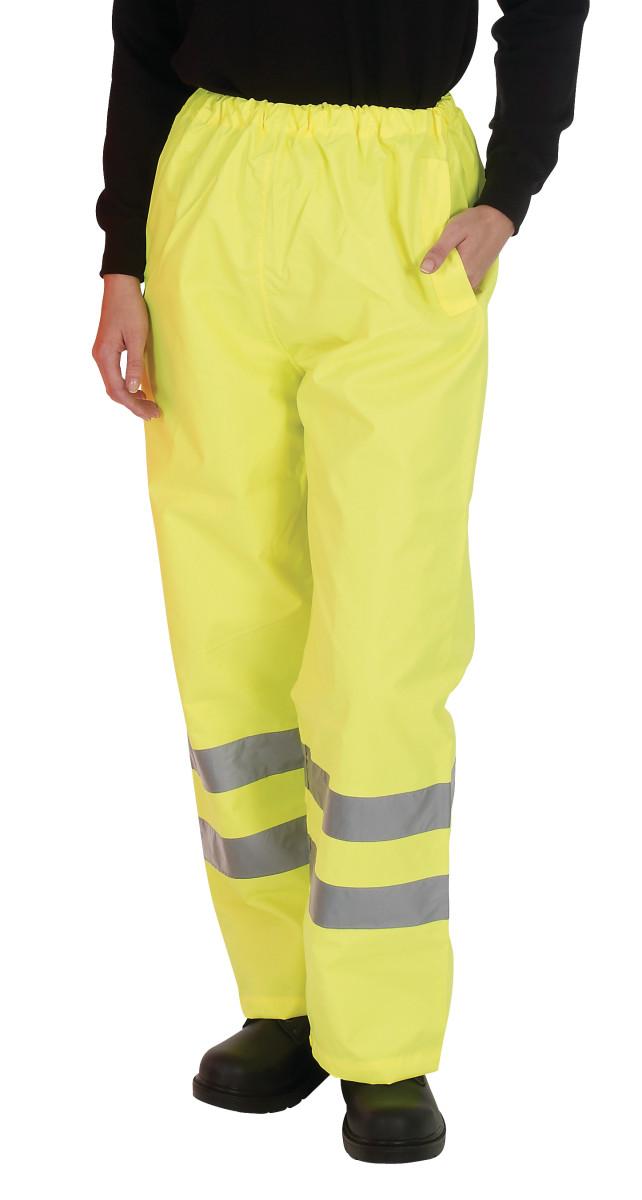 Hi-Vis Waterproof Contractor Trousers
