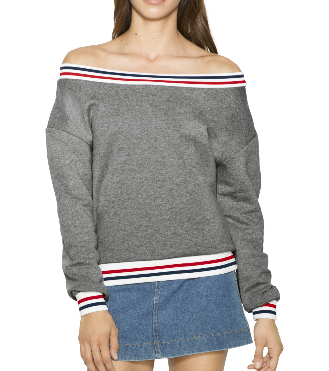 American Apparel Womens Sport Sweatshirt