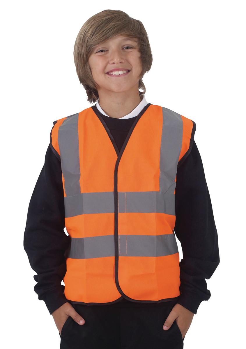 Hi-Vis Children's Waistcoat