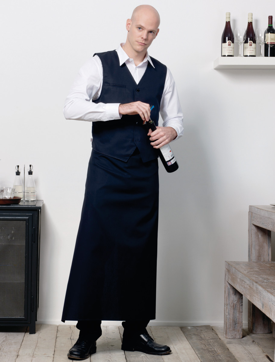 "Jassz Bistro ""London"" Long Bistro Apron"