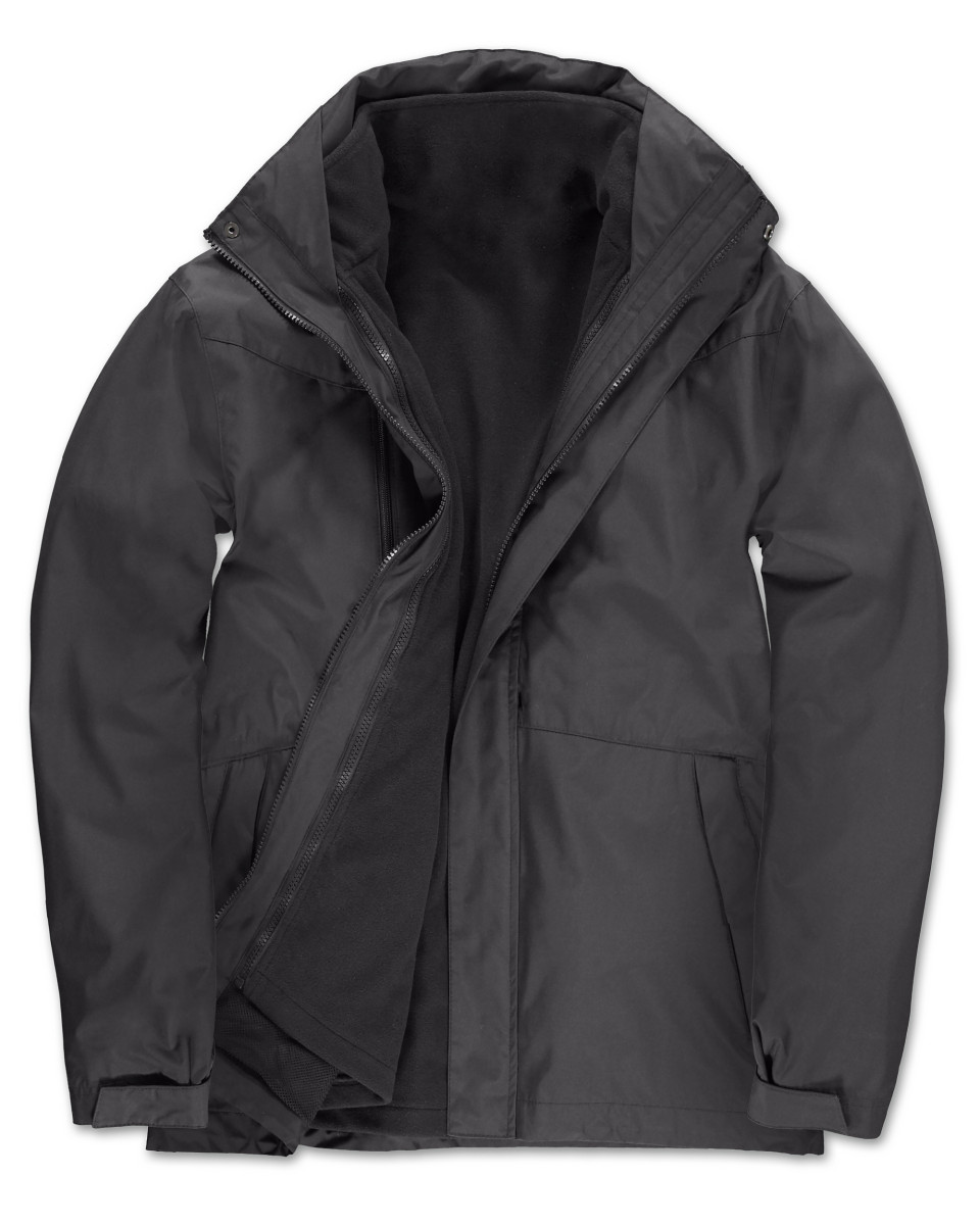 B&C Corporate 3 In 1 Jacket Mens