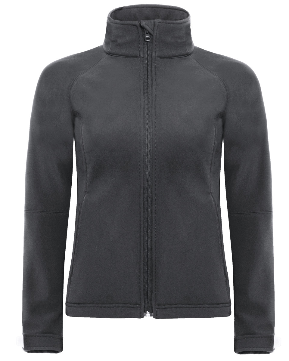 B&C Womens Hooded Softshell