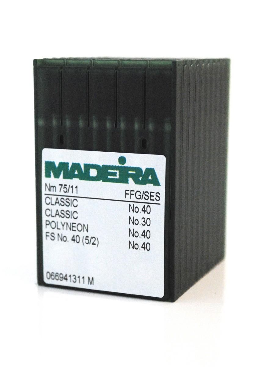 Madeira Sharp Point 75 Needles (100 Pak)