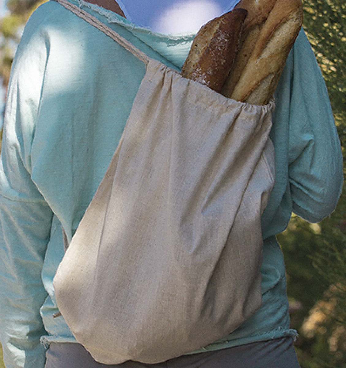 "Jassz Bags ""Pine"" Organic DString BPack"