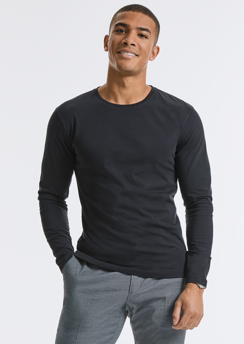 Russell Mens Pure Organic L/S Tee