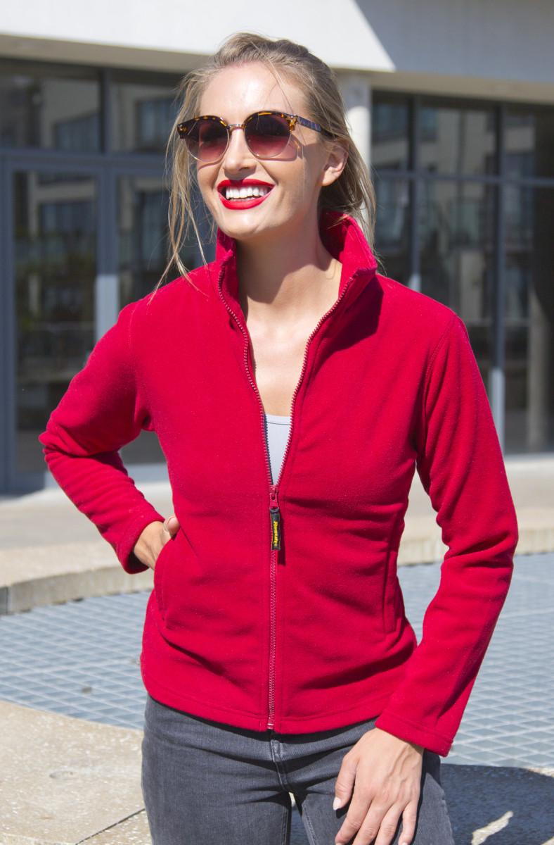 La Femme High Grade Microfleece Jacket