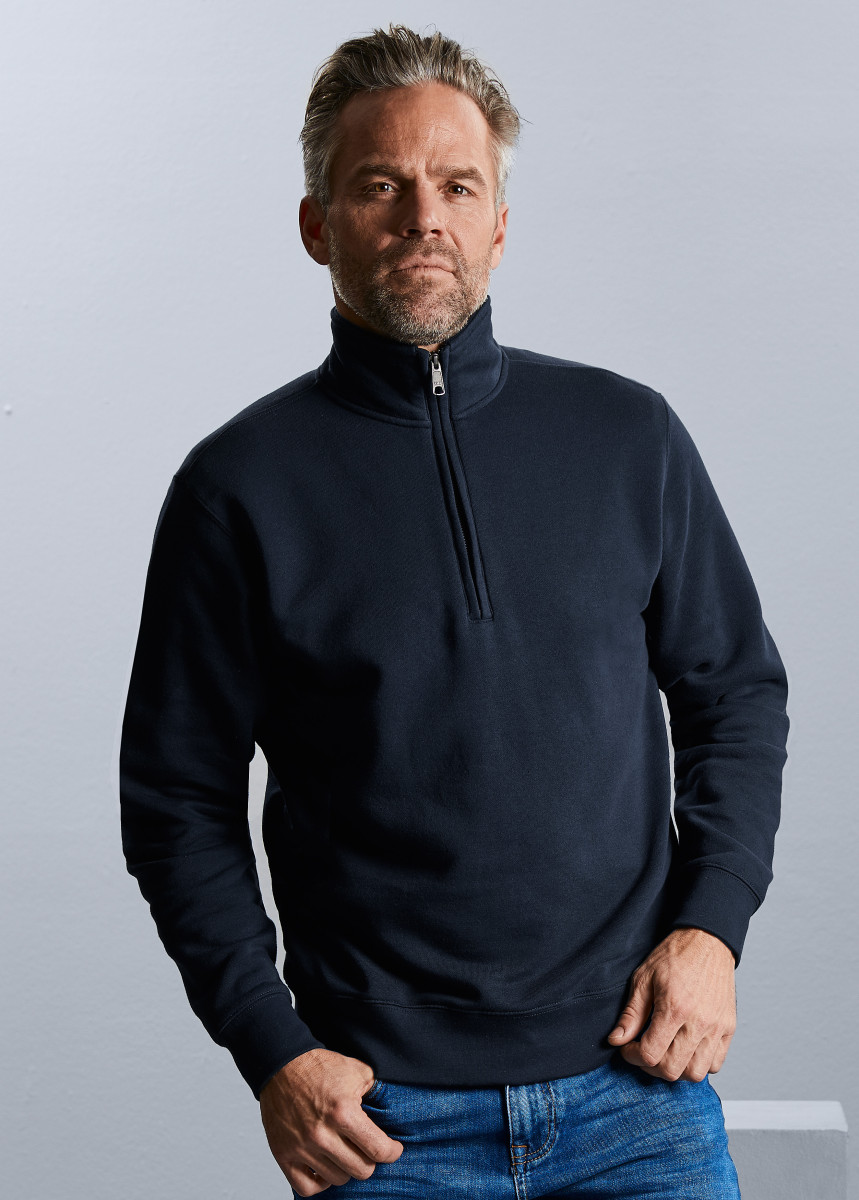 Russell Authentic 1/4 Zip Sweat