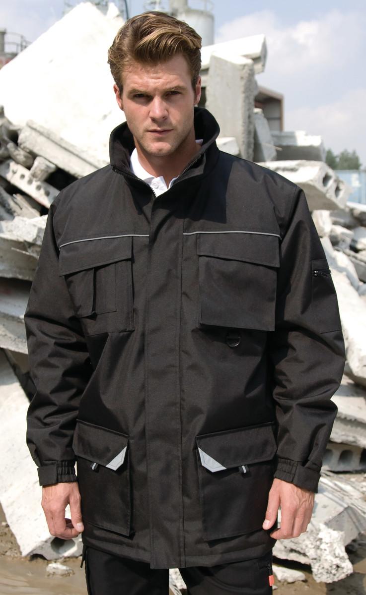 Result Workguard Sabre Long Coat