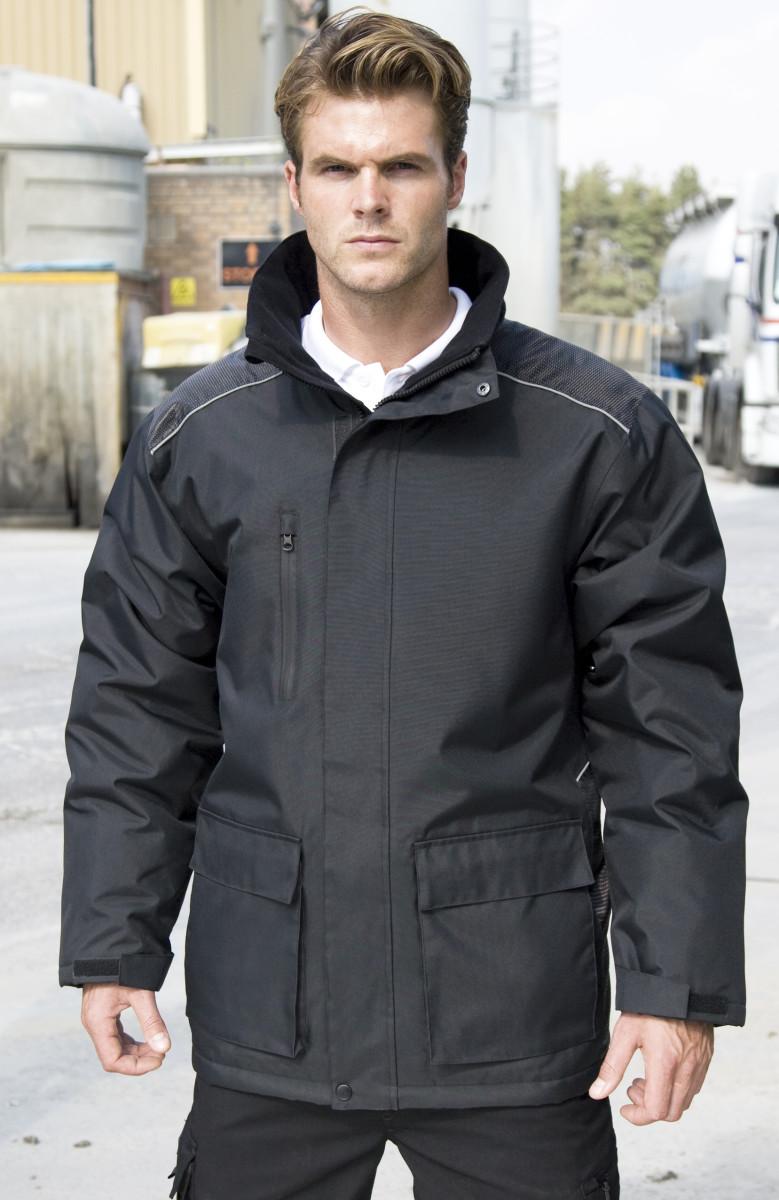 Result Workguard Vostex Long Coat