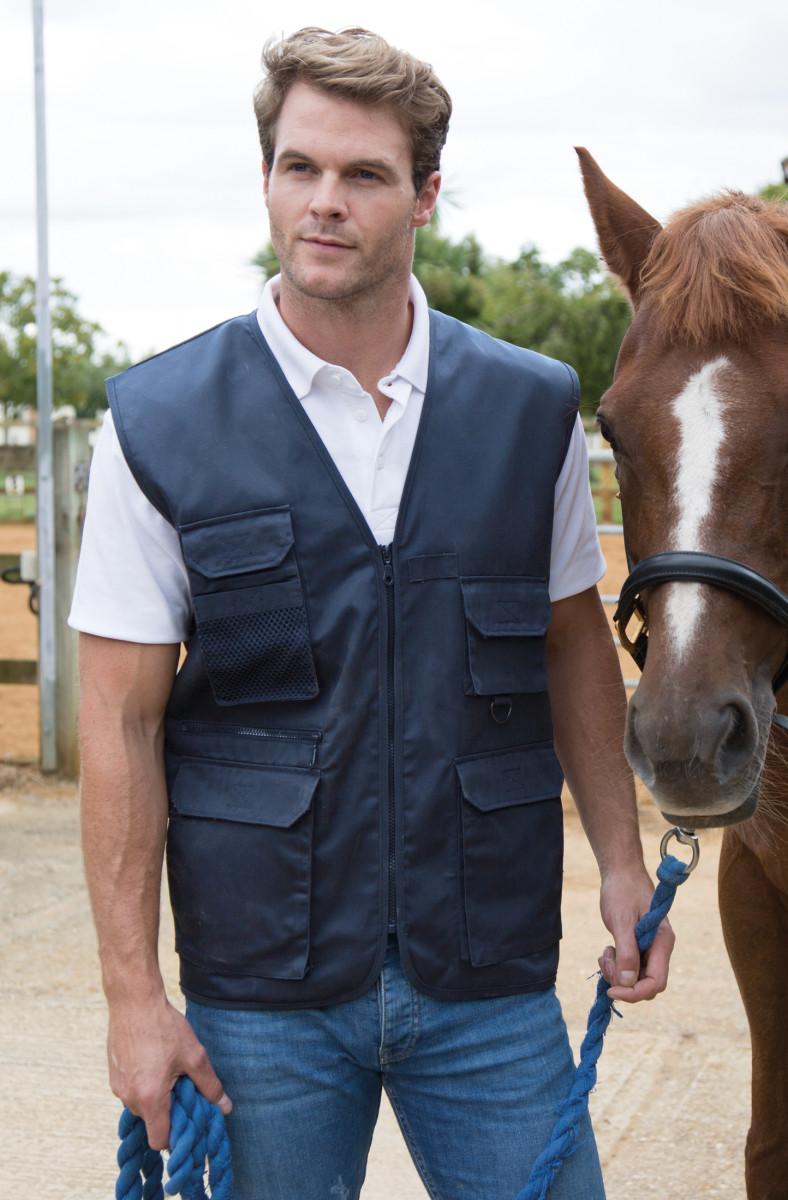 Result Workguard Safari Waistcoat