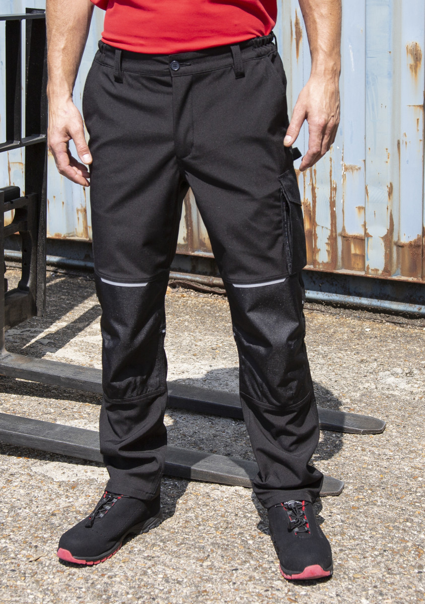 Result Workguard Slim Softshell Trousers