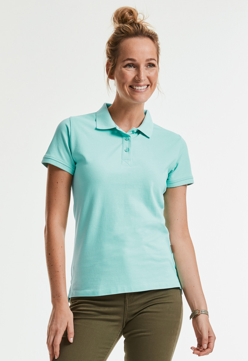 Russell Ladies Pure Organic Polo