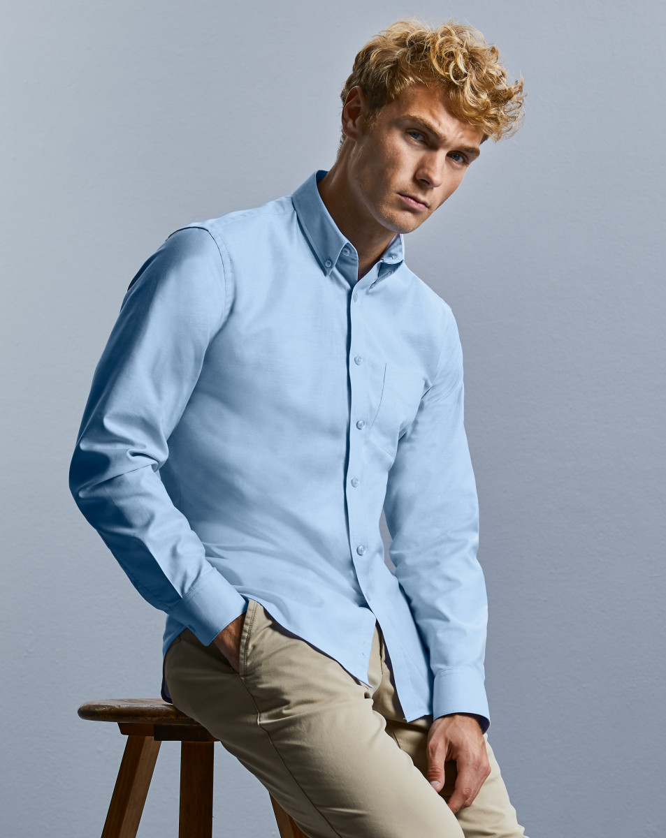Russell Collection L/S Oxford Shirt - 1