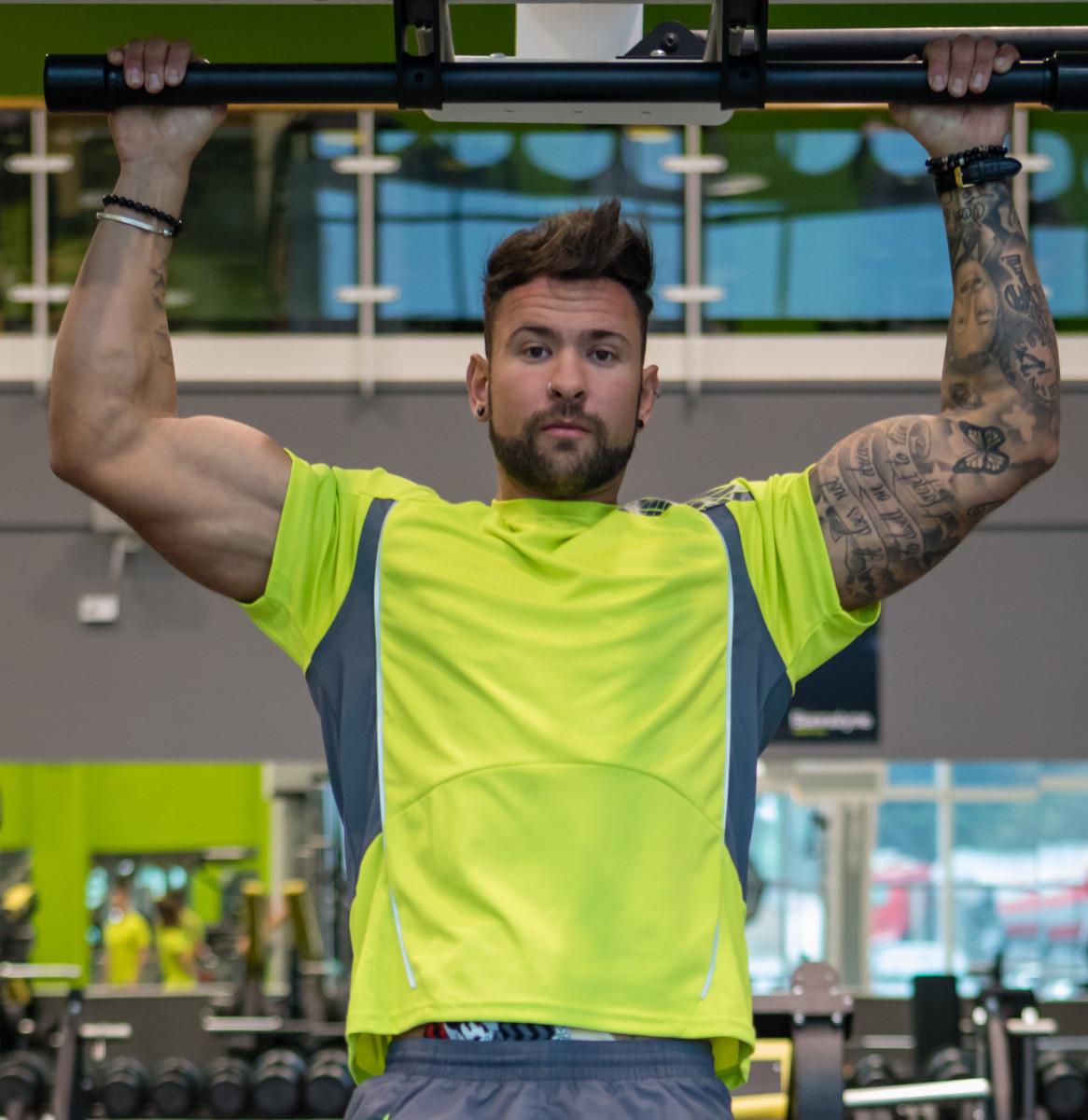 Spiro Mens Training Shirt