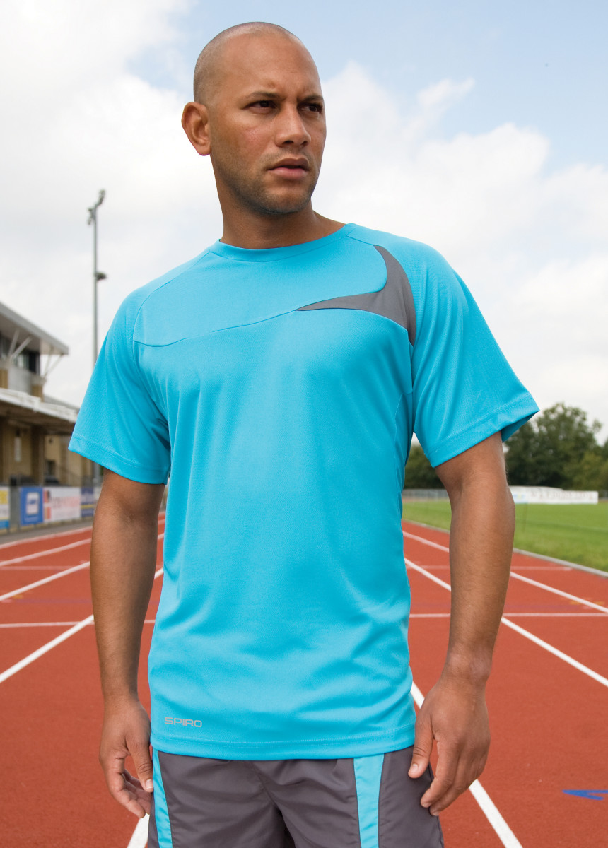 Spiro Mens Dash Training Shirt