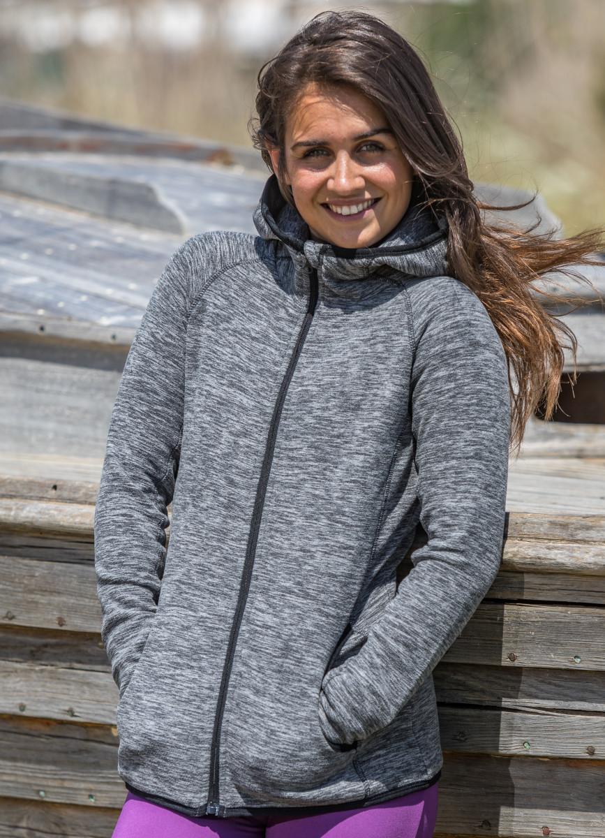 Spiro Fitness Womens Microfleece Hoodie