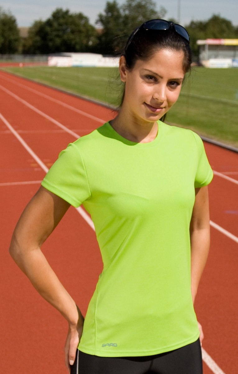 Spiro Ladies Quick Dry S/Sleeve T-Shirt