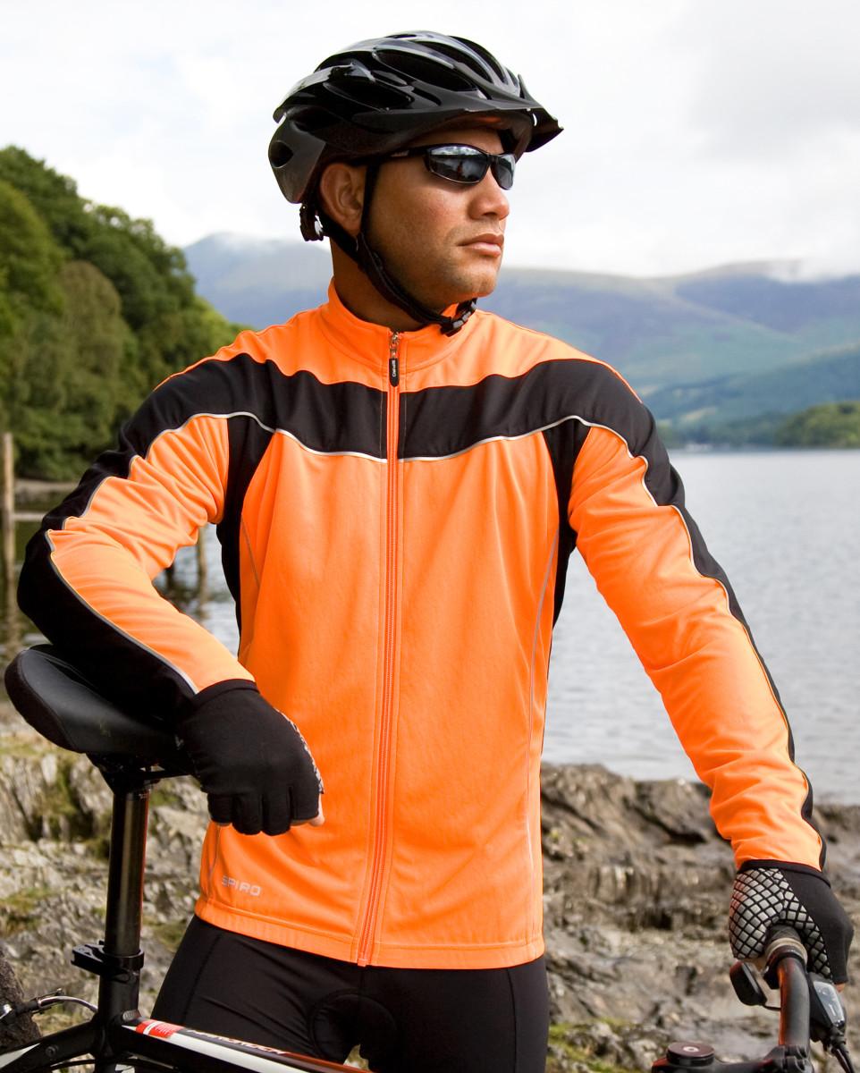 Spiro Mens Bikewear L/S Performance Top