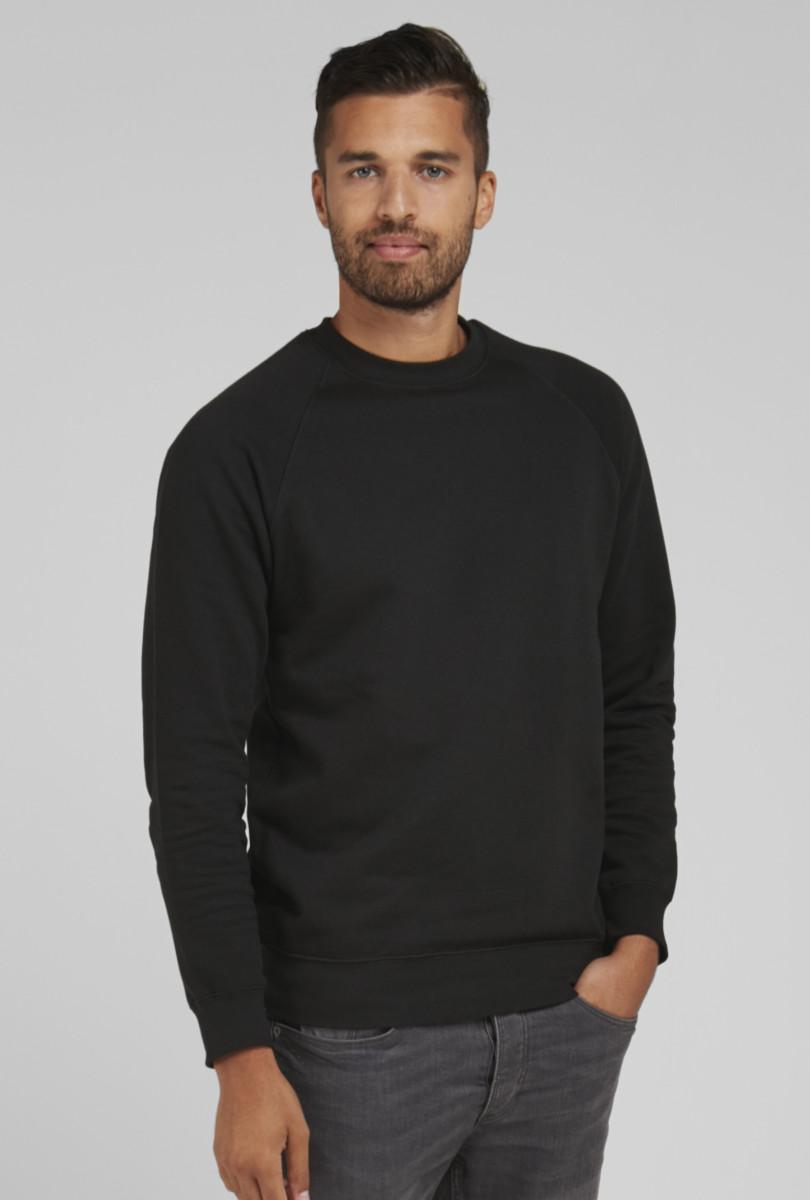 Men's Raglan Sleeve Crew Neck Sweatshirt