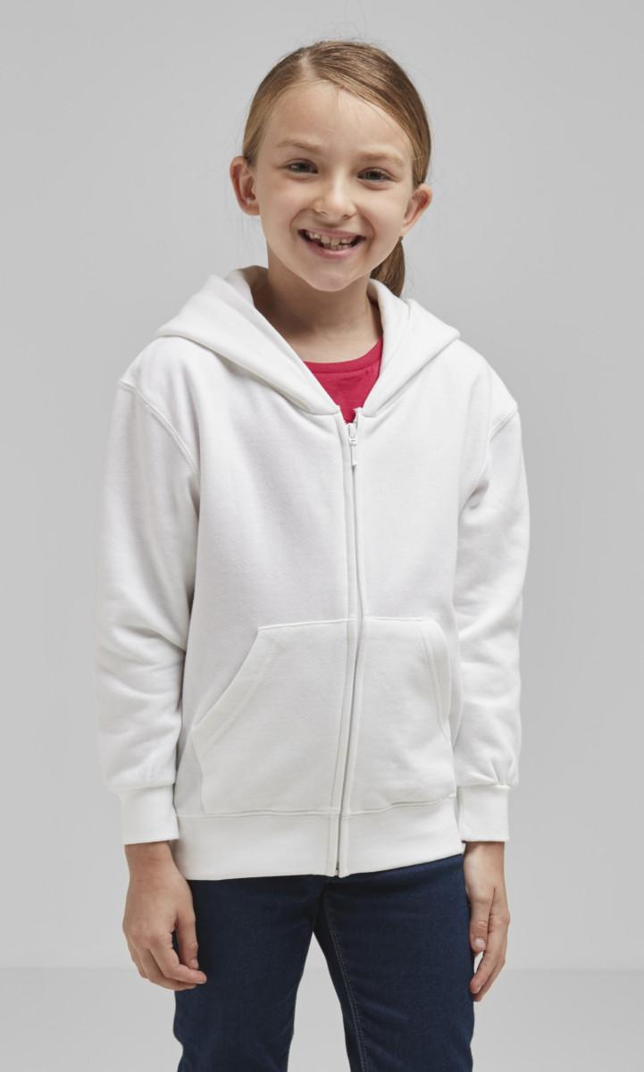 Kid's Full Zip Hooded Sweatshirt