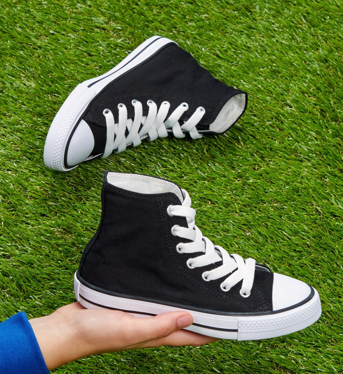 SG Footprints Junior High Top Shoe