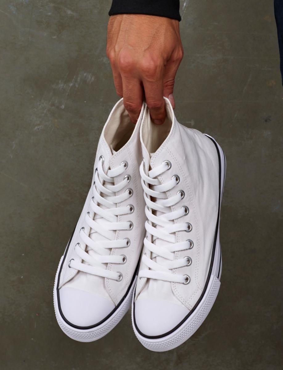 SG Footprints Adult High Top Shoe